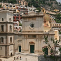 Tour of the Amalfi Coast - Positano Church