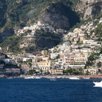 Tour of the Amalfi Coast - Positano from the sea
