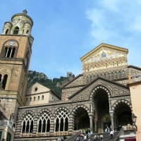St.Andrew Cathedral in Amalfi